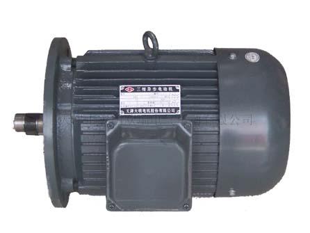 Y系列电动机简介: Y系列电动机是全封闭自冷式鼠笼型三相异步电动机。它集中了国内外的先进技术,是全国统一设计的新系列产品。 Y系列电机具有高效、节能、起动转矩高、噪声小、可靠性高、寿命长等优点。 安装尺寸和功率等级完全符合IEC标准。采用B级绝缘,外壳防护等级为IP44,冷却方式为IC411。 Y系列电机,额定电压为380V,额定频率为50Hz,3kW及以下为Y接法,4kW以上为接法。 Y系列电机用于一般无特殊要求的机械设备,如风机、水泵、机床、搅拌机等等各类不含易燃、易爆或腐蚀性气体的场合。 Y